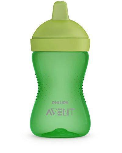 Philips Avent Drinkbeker + 12 maanden – 1 Drinkbeker (300 ml) – Harde bijtbestendige tuitbeker – Ronde vorm en antislip…