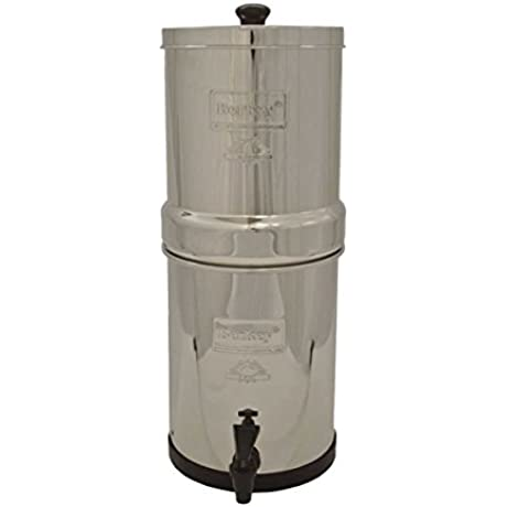 Big Berkey Water Filter With 2 X 9 Ceramic Filters