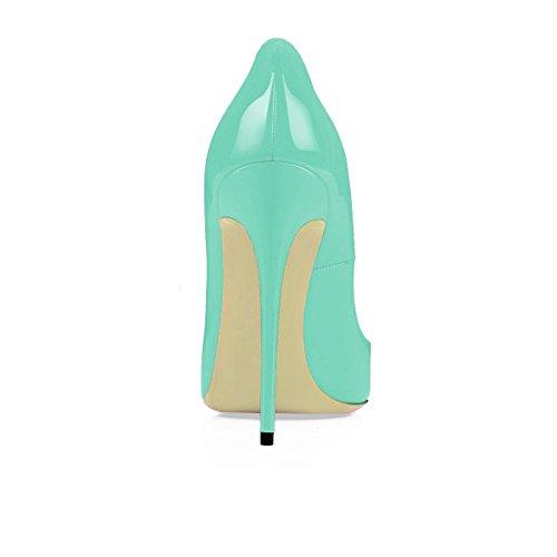 Scarpe Scarpe C Donna Blue col col da Tacco Tacco Scarpe uBeauty Classiche Scarpe Colorate qgB0OcFt
