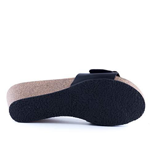 Sabot sandali Plakton Donna Plakton Sabot Nero wqEOq