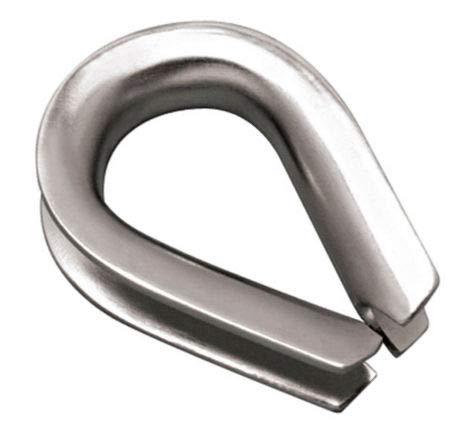 MarineNow Stainless Steel 316 Rope Thimble Marine Grade 5/16