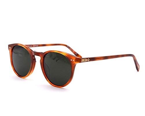 Kasuki Sunglasses Women 2018 Vintage Ronud Sunglasses Women Glasses Polarized Sunglasses Men Ov5256 Sir O 'malley Lunette De Soleil - (Lenses Color: tortoise ()