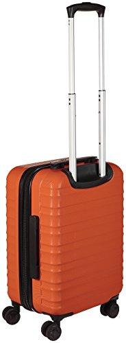 AmazonBasics Hardside Carry On Spinner Travel Luggage Suitcase - 20 Inch, Orange