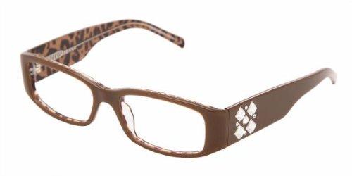 Dolce Gabbana 3048B 565 BROWN ANIMAL PRINT DEMO LENSE Designer Women Eyeglasses by Dolce & Gabbana
