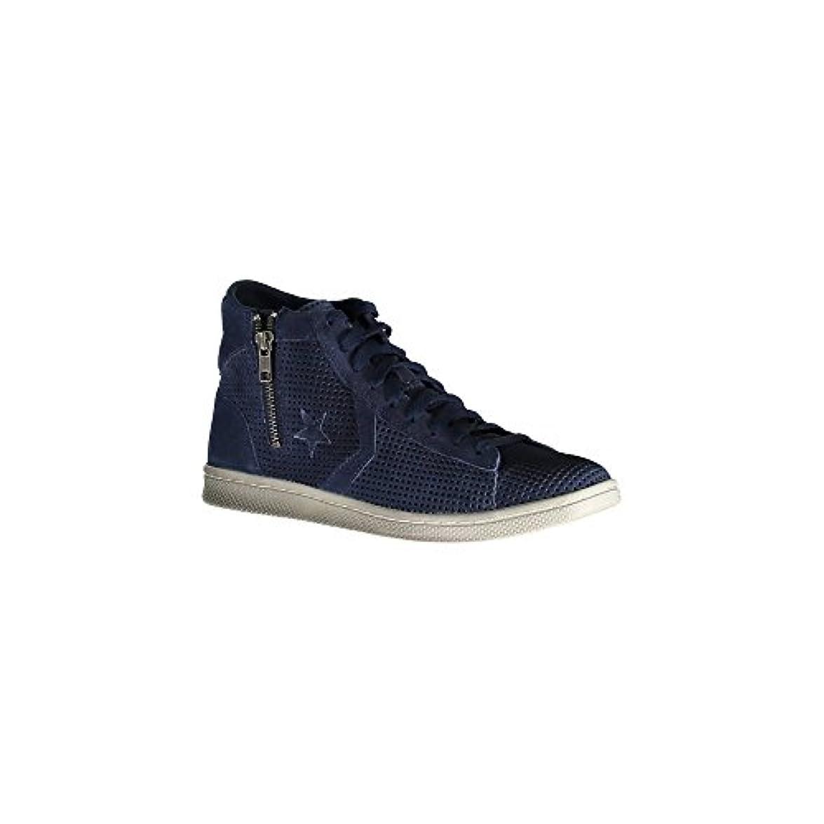 Converse Sneaker Alta Pro Lea Lp Mid Suede Zip Perf Blu Scuro Eu 37