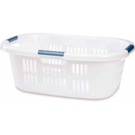 Rubbermaid 2.1 BU Large Hip-Hugger Laundry Basket