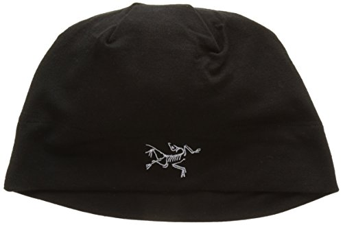 Arc'teryx Unisex Rho LTW Beanie Black Hat One Size