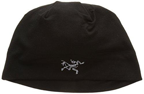 Arc'teryx Unisex Rho LTW Beanie Black Hat One Size