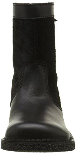 Kickers Lexy - botas clásicas de caña media Mujer negro