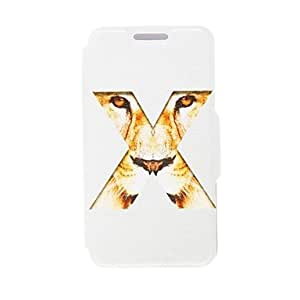 TOPAA Kinston X Tiger Eyes Pattern PU Leather Full Body Case with Stand for Samsung Galaxy Note 2 N7100