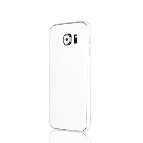 AppSkins Rückseite/Seitenteile Samsung Galaxy S6 Carbon white