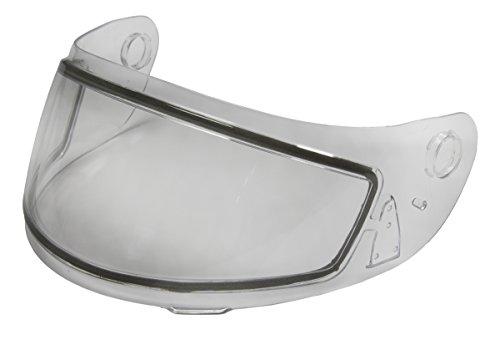 (Fulmer Dual Pane Shield Clear Dual Lens Snowmobile Shield works with QR3 Helmets)