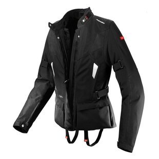 H2out Jacket Textile (Spidi Voyager H2Out Womens Black Textile Jacket - Large)