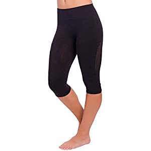 Amazon.com : Zensah High Waisted Capris - Women's Compression 3/4 ...
