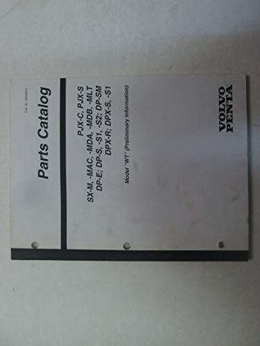 (Volvo Penta Stern Drive PJX, SX, DP, DPX Model