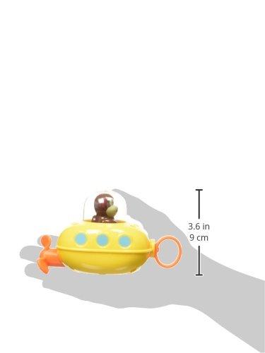 31pKIZX3lvL - Skip Hop Pull & Go Monkey Submarine: Baby Bath Toy, Marshall Monkey Zoo Character