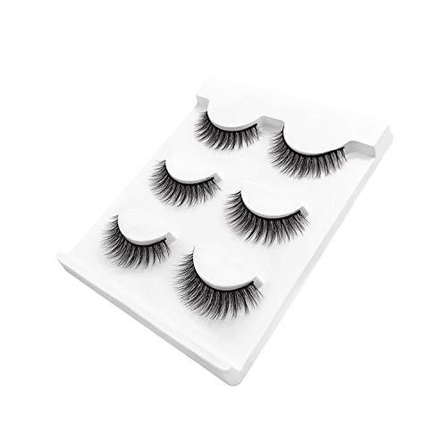 Natural False Eyelashes Fake Lashes Long Makeup 3D Mink Lashes Extension Eyelash Mink Eyelashes,X24 -
