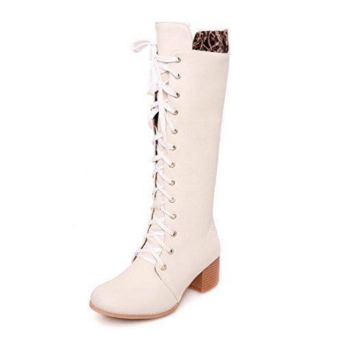 1TO9 - Zapatillas altas mujer Beige