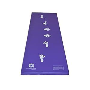 6ft x 2ft x 1.5in Gymnastics Cartwheel/Beam Training Mat (Purple)