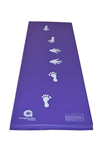 6ft x 2ft x 1.5in Gymnastics Cartwheel/Beam Training Mat (Purple)