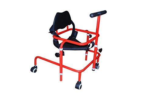 Albio CP Walker Child – Height Adjustable Cerebral Palsy Walker with Body Supporting Chest Belt
