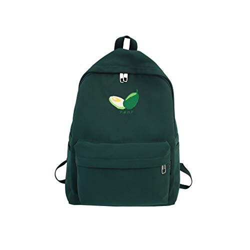 ge-Capacity Backpack,Leather Commuter Travel Student Bags, Women Canvas School Package ON SALE! ()