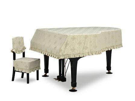 グランドピアノカバー GP-586TG ヤマハ C1X用 (椅子カバー別売)   B075MFTLW7