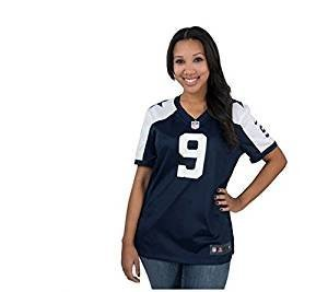 Tony Romo Back Jersey (Tony Romo Dallas Cowboys Nike Women's Throwback Game Jersey – Navy Blue (X-Large))