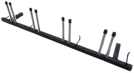 Porta sci per 4 paia sci mazze da sci Nordic Walking bastoni da parete
