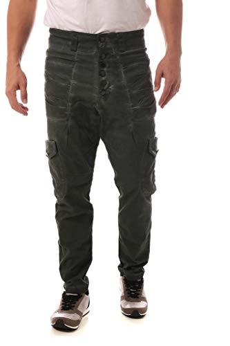 Calça Jeans Denuncia Saruel Verde Militar 40