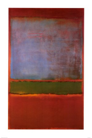 - Violet, Green and Red, 1951 Poster Print by Mark Rothko, 24x36 Fine Art Poster Print by Mark Rothko, 24x36