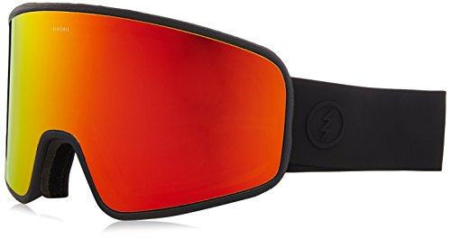 Electric Visual Electrolite Matte Black/Brose Red Chrome Snow - Goggles Electric Uk