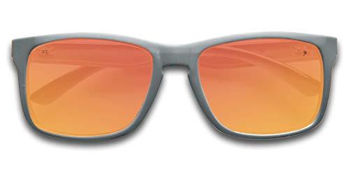 675ad96a1d02 KZ Gear - Medium Frame - Classic Modern Shaped - Floating Sunglasses -  Polarized UV400 Lenses