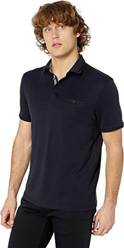 Ted Baker Men's Plaza Short Sleeve Polo Shirt Navy 5