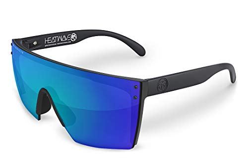 Heat Wave Visual Lazer Face Polarized Sunglasses in ()