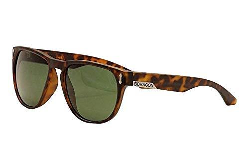 (Dragon Sunglasses - Marquis / Frame: Matte Tortoise Lens: Green G-15)