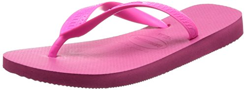 Havaianas Women's Top Flip Flop Sandal,Shocking Pink,35/36 BR (6 M US Women's/4-5 M US (Mix Flip Flops Thong Sandals)
