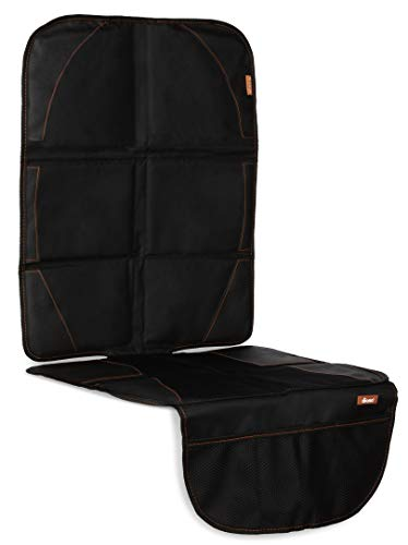 Diono Ultra Mat Deluxe, Vehicle Seat Protector, Black
