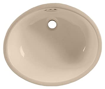 American Standard 0497.221.045 Ovalyn 19 Inch Basin Undercounter Sink With  Front Overflow,