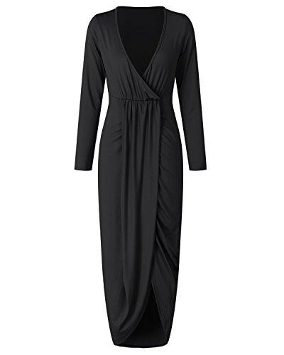 Noir Femme Gikim Gikim Robe Robe Dcontract Xzw7Fq