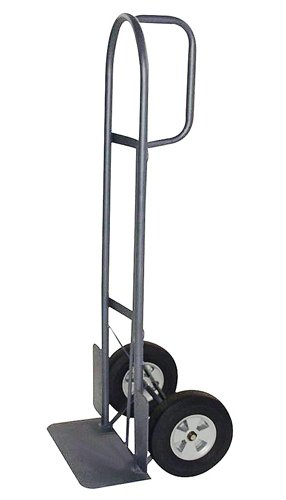 Milwaukee Handles (Milwaukee Hand Trucks 37029 D-Handle Truck with 10-Inch Puncture Proof Tires and 18-Inch Toe Plate)
