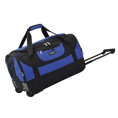 travelers-club-luggage-adventure-20-inch-multi-pocket-sports-rolling-duffel-blue-one-size