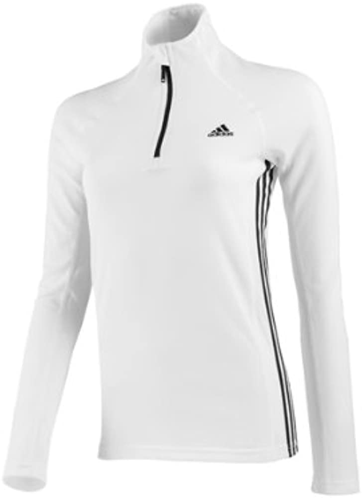 adidas Poloshirt ASE PCO 1/2 Zip Long Sleeve - Polo, Color Blanco ...