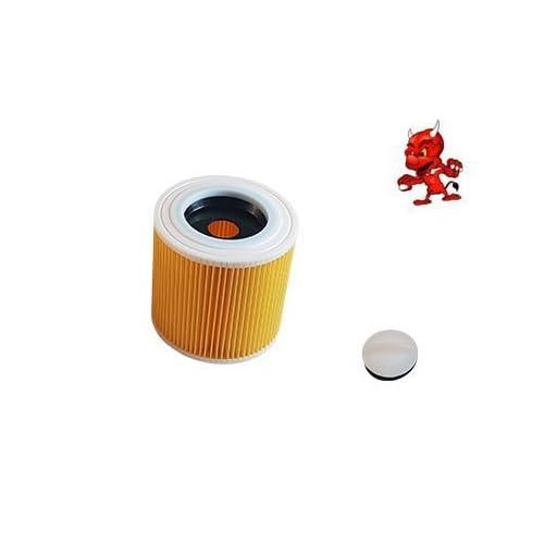 1 Cartouche de filtre Filtre rond FILTRE À LAMELLES convient à Kärcher WD 2250