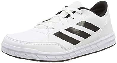 adidas Australia Boys AltaSport Trainers, Footwear White/Core Black/Footwear White, 1 US