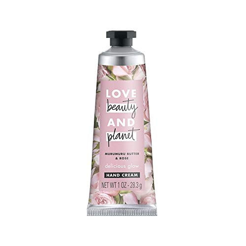 Love Beauty and Planet Murumuru Butter & Rose Delicious Glow Hand Cream Body Lotion – Rose – 1oz – Pack of 2