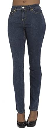 (CA141404B) COOGI Mineral Hot Skinny Jeans (Sizes 4-24) in Mineral Size: 20