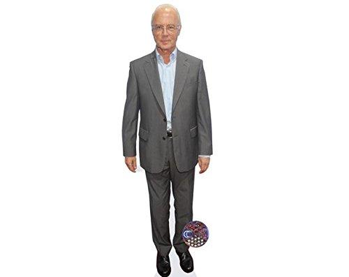 Celebrity Cutouts Franz Beckenbauer Pappaufsteller lebensgross