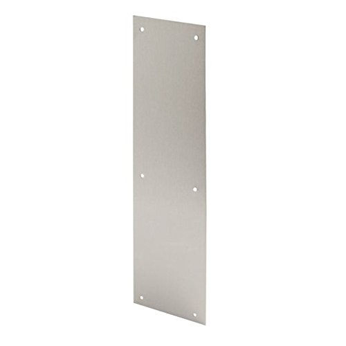 Ives Residential 820032d416 Stainless Steel 4'' X 16'' Push Plate Satin Stainless Steel Finish