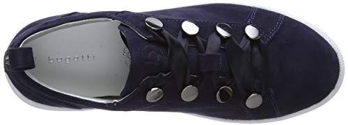 dark 431407123400 4100 Basse Scarpe Bugatti Donna Blue Ginnastica Blu Da ga0Wfq